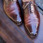 Garo repaired shoes
